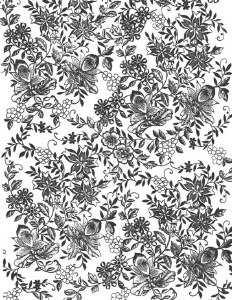 Decal, Rice Paper 19 Black