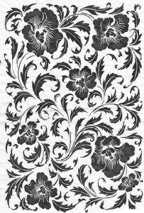 Decal, Rice Paper 30 Black