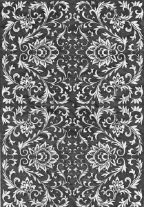 Decal, Rice Paper 35 Black