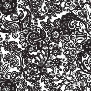 Decal, Rice Paper 87 Black
