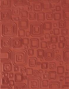 Designer Mat, Retro Squares