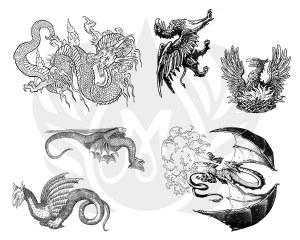 Dragons Silk Screen