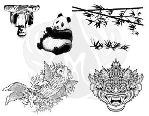 Far East Silk Screen