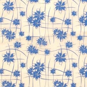 Fine Flowers Rice Paper 14x18