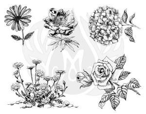 Flowers 3-XL Silk Screen
