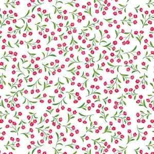 Full Color Small Flower Decal