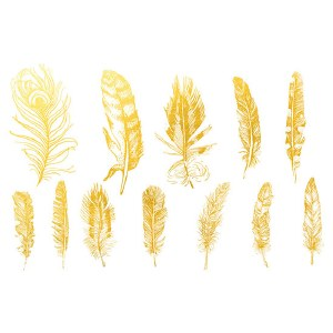 Gold Luster, Feather 2