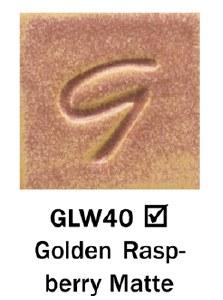 Golden Raspberry Matte Pint