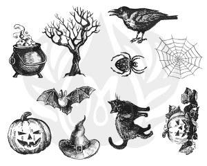 Halloween Silk Screen