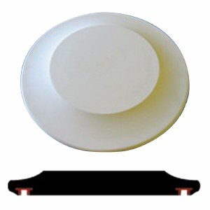 "Hump Mold 15"" Charger Plate"