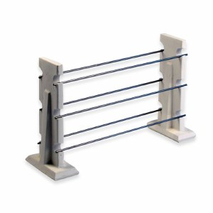 """Large Bead Rack w 6p 10""""wire"""