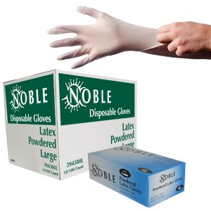 Latex Gloves, Box 100