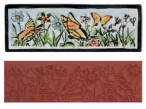 Mayco Butterfly Garden Stamp