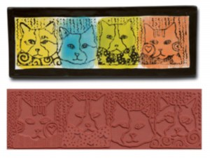 Mayco Design Cats Stamp