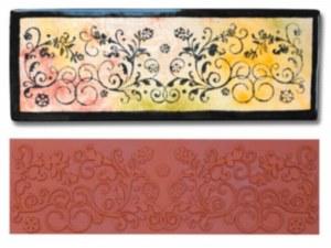 Mayco Floral Flourish Stamp