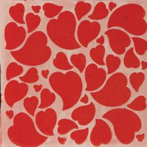 Mayco Hearts Stencil