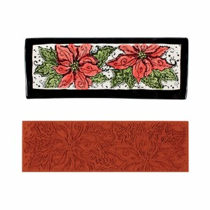 Mayco Poinsettia Stamp