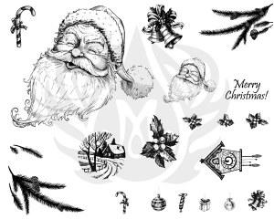 Merry Christmas Silk Screen