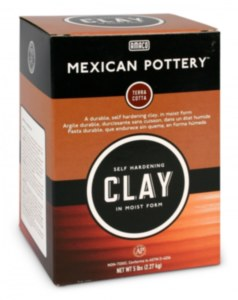 Mexican Pottery Clay, 5 lbs