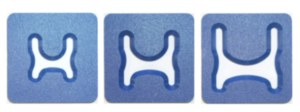 "NS 4"" U-shaped Tray Sets"