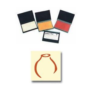 Orange Potter's Ink Pad