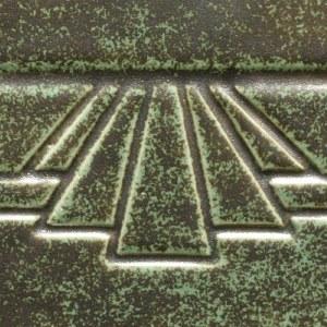 PC48 Art Deco Green Pint