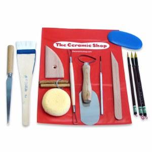 Pottery Tool kit, 14