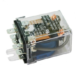 Relay, 25 Amp, Clear