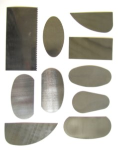 Steel Scraper Ribs Set