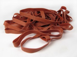 """Rubber Band, 6""""x3/4"""" Bag"""
