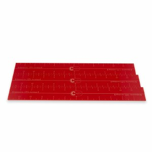 Shrinkage Ruler Set