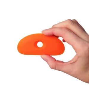 Silicone Rib 3, Orange