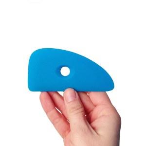 Silicone Rib 5, Blue