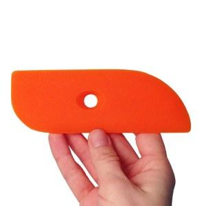 Silicone Rib 8, Orange