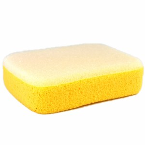 Sponge w Scrubber Rectangle