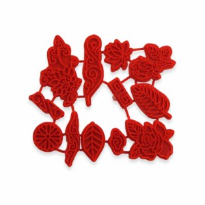 Flower Stamps, Set of 12