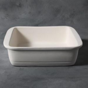 Stoneware Bisque Casserole