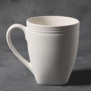 Stoneware Bisque Contempo Mug
