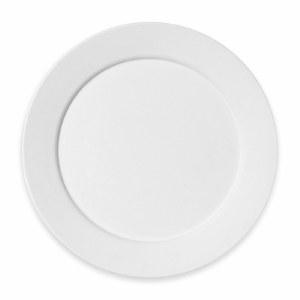 Stoneware Bisque Mod Plate Din