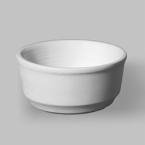 Stoneware Bisque Serving Bowl
