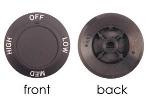 Switch Knob 3 Position