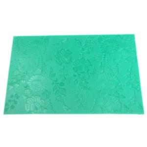 Texture Mat, Floral Pattern