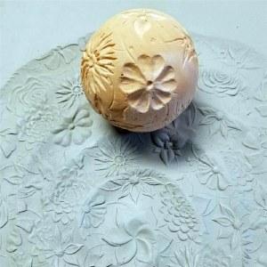 Texture Sphere, Flowers