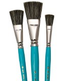 3pc Glaze Brush Set