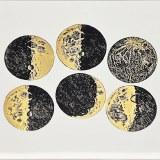 Luster Color Moons Black/Gold