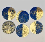 Luster Color Moons Blue/Gold