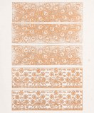 Copper Luster Decal, Friezes