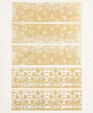 Gold Luster Decal, Friezes