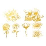 Gold Luster, Flower