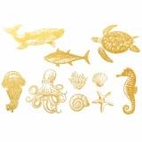 Gold Luster, Ocean Creature